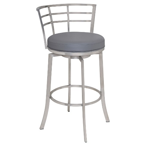 Astounding 30 Viper Barstool Gray Armen Living Unemploymentrelief Wooden Chair Designs For Living Room Unemploymentrelieforg