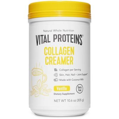 Vital Proteins Collagen Creamer Vanilla Dietary Supplements - 10oz