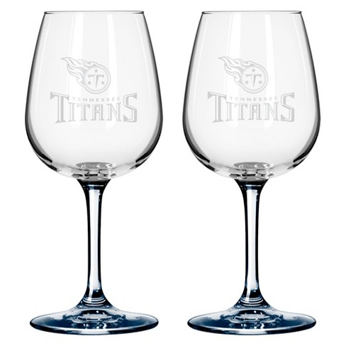 Boelter Brands Tennessee Titans 2 Pack Wine Glass 12 oz - image 1 of 1