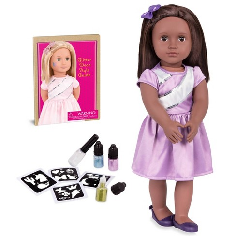 "Our Generation 18"" Glitter Tattoo Doll - Shyanne - image 1 of 4"