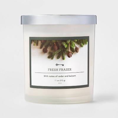 11oz Glass Jar Candle Fresh Fraser - Threshold™