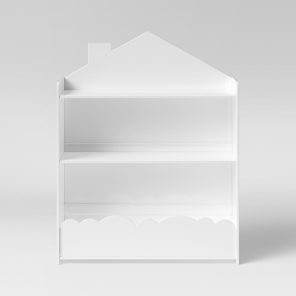 Kids Cloud Bookcase White - Pillowfort