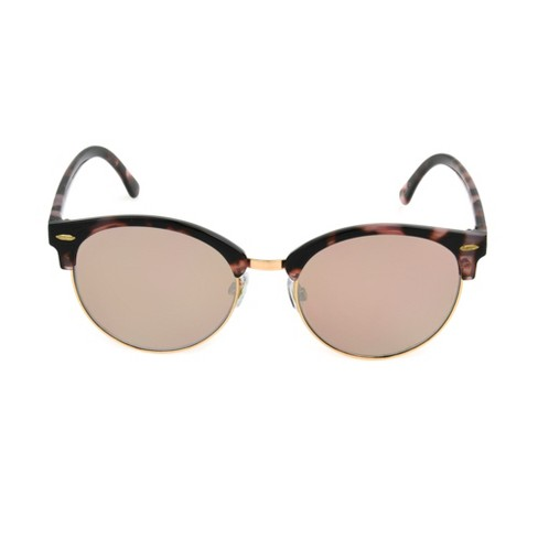 5df70d41a36 Women s Circle Sunglasses - A New Day™ Gold   Target