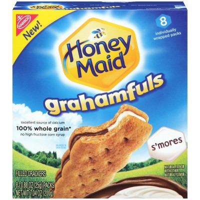 Crackers: Honey Maid Grahamfuls