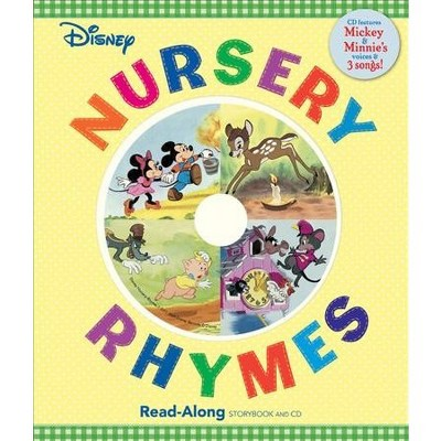 Disney Nursery Rhymes Read-Along (Board Book)