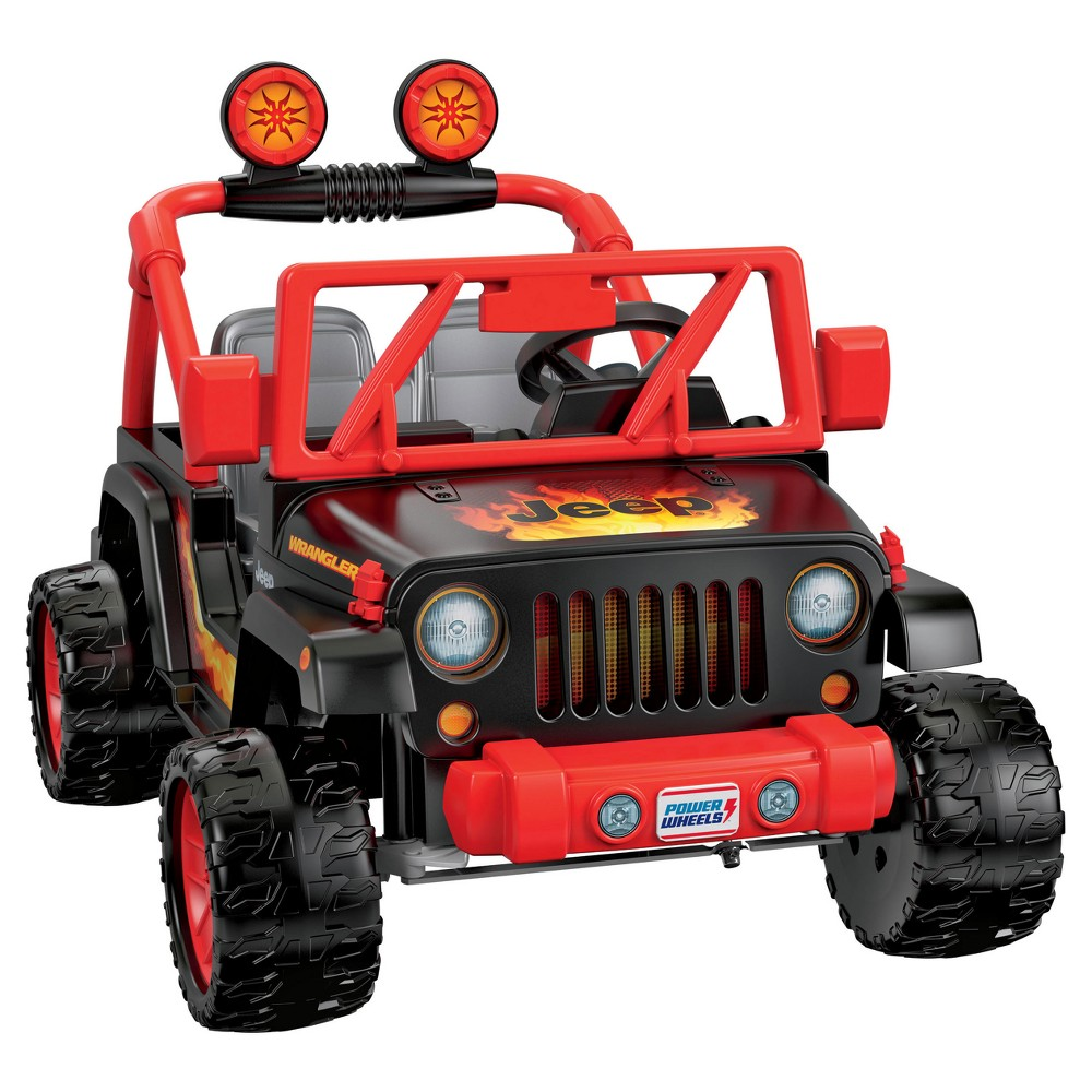 Fisher-Price Power Wheels Tough Talking Jeep $159 w/ Stacking Discounts (Was $309)