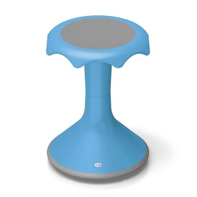 "VS America Hokki Stool Flexible Ergonomic Seating 18"" - Light Blue"