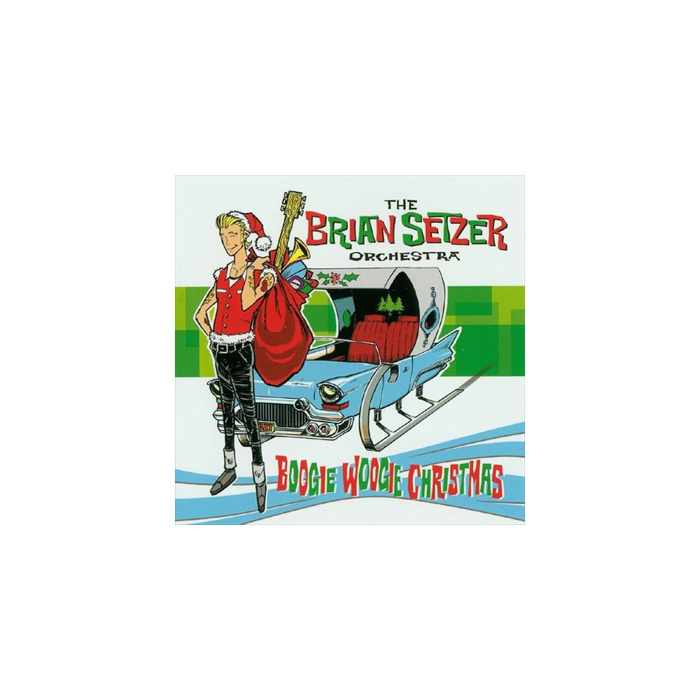 Brian orches setzer - Boogie woogie christmas (Vinyl)