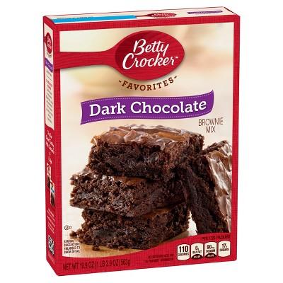 Betty Crocker Dark Chocolate Brownie - 19.9oz