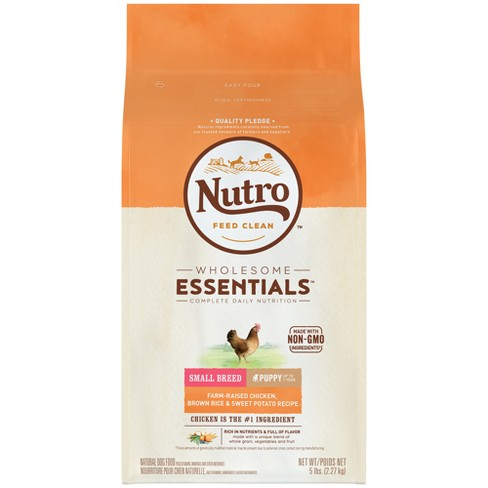 Nutro Wholesome Essentials Small Breed Puppy Chicken Rice Dry Dog