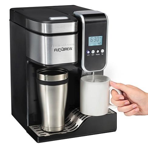 Hamilton Beach Flexbrew Single Serve Coffee Maker Hot Water