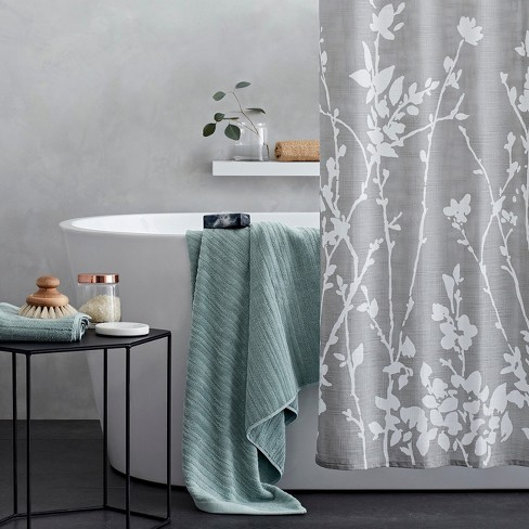 Floral Print Shower Curtain Gray Project 62 Target