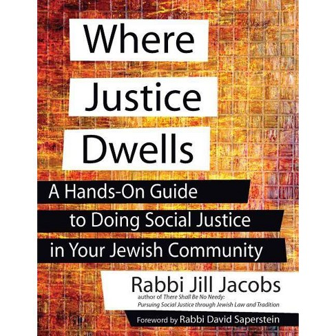 Where Justice Dwells - by  Jill Jacobs (Paperback) - image 1 of 1