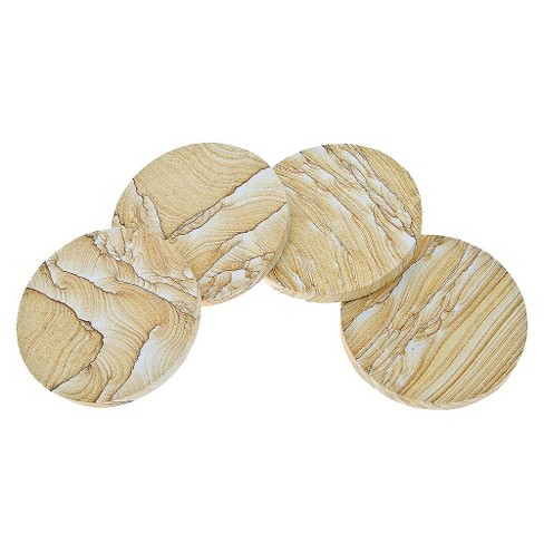Thirstystone Natural Sandstone Coasters - Set of 4 - image 1 of 1