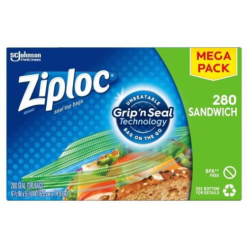 Ziploc Sandwich Bags - image 1 of 4