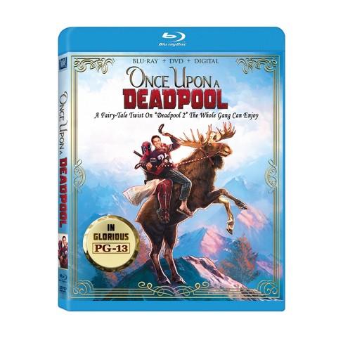 Deadpool 2 - Once Upon A Deadpool(Blu-Ray + DVD + Digital)