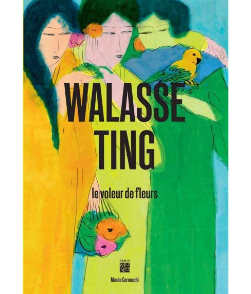 Walasse Ting : The Flower Thief (Paperback) - image 1 of 1
