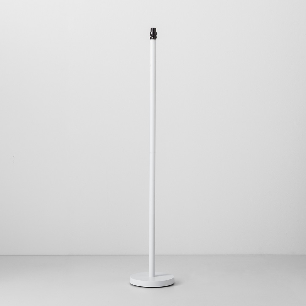 Floor Lamp Base White (Bulb not Included) - Made By Design