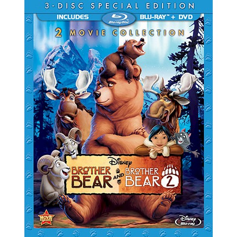 Brother Bear Brother Bear 2 Special Edition 3 Discs Blu Ray Dvd