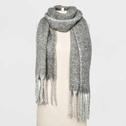 Women's Brushed Blanket Scarf - A New Day™