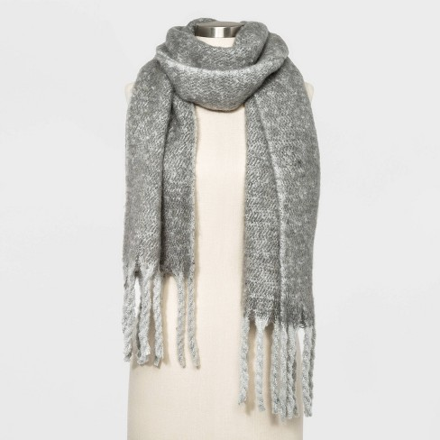 Women's Brushed Blanket Scarf - A New Day™ - image 1 of 2