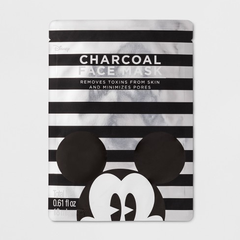 Mickey Mouse Face Mask - Charcoal - 0.61 fl oz - image 1 of 8