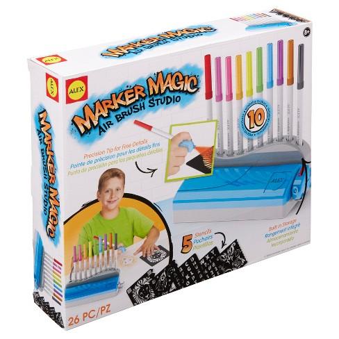 ALEX Toys Artist Studio Marker Magic Air Brush Studio - image 1 of 4