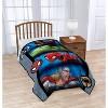 Marvel Avengers Full Bed Blanket Gray - image 2 of 3