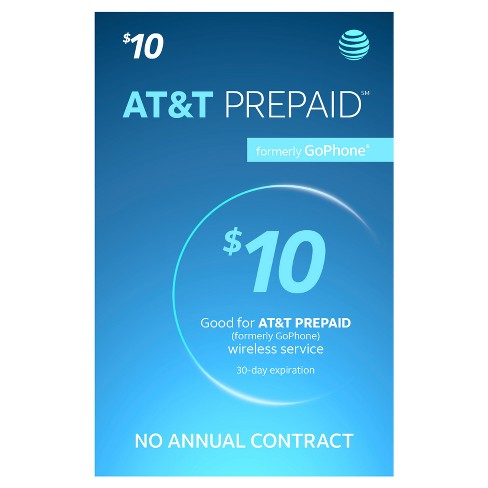AT&T Prepaid Phone Card (Email Delivery) - image 1 of 1