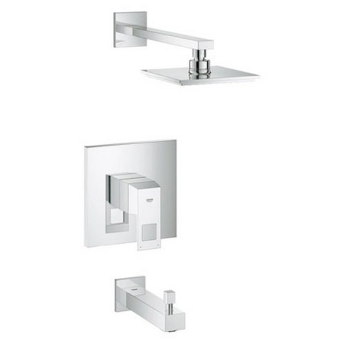 Grohe America, Inc 35 027 Eurocube Tub and Shower Trim Pressure Balance Single Handle - image 1 of 1