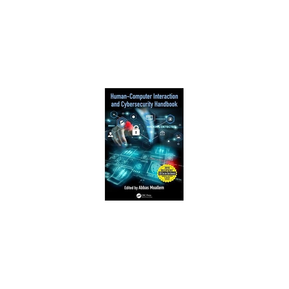 Human-computer Interaction and Cybersecurity Handbook - (Hardcover)