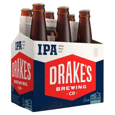 Drake's IPA Beer - 6pk/12 fl oz Bottles