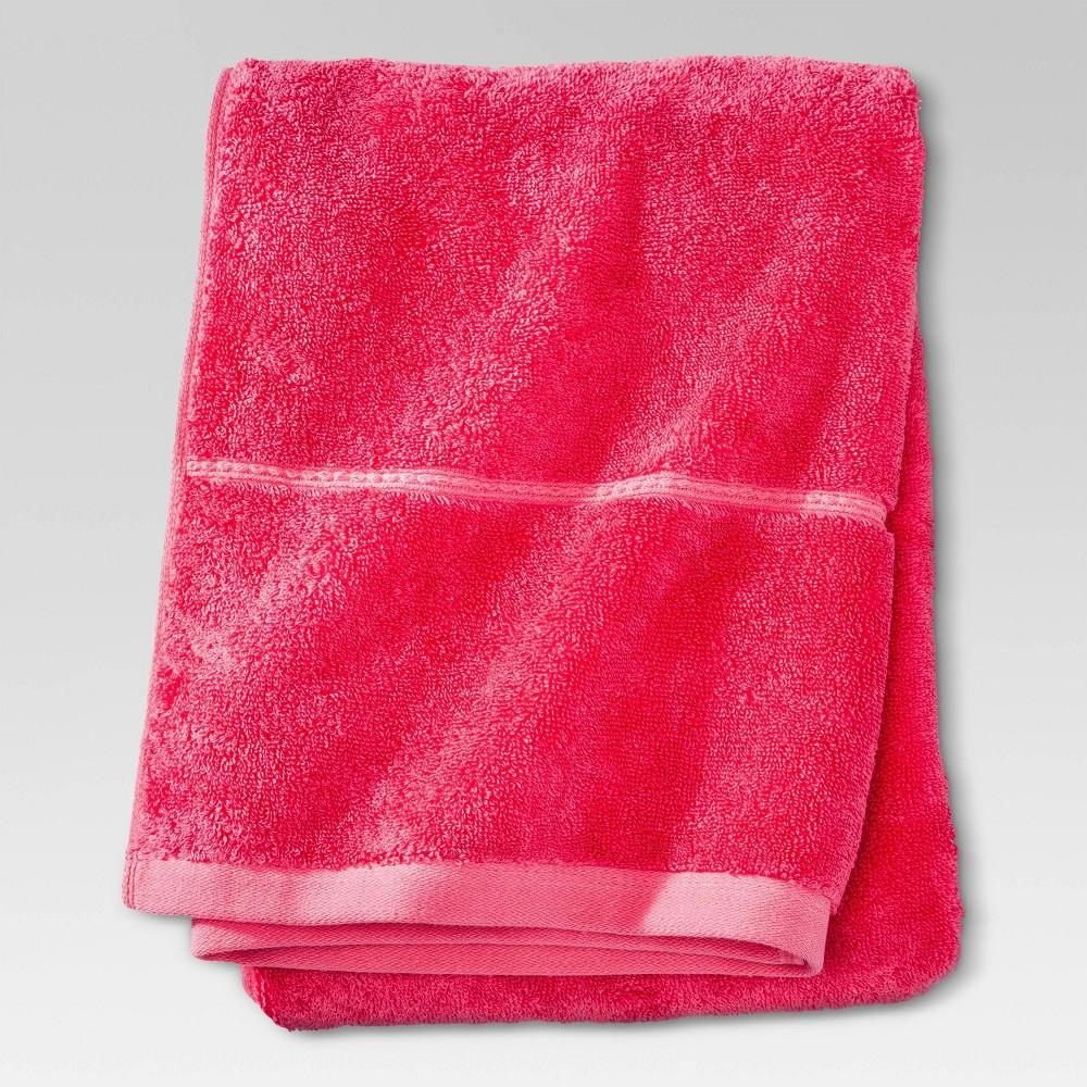 Botanic Solid Bath Towel Honeysuckle Threshold 8482