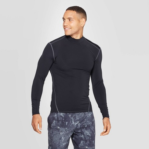 Men's Long Sleeve Compression Mock T-Shirt - C9 Champion® - image 1 of 2