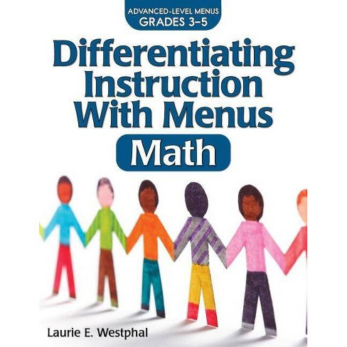 Differentiating Instruction with Menus: Math - 2 Edition by  Laurie E Westphal (Paperback) - image 1 of 1