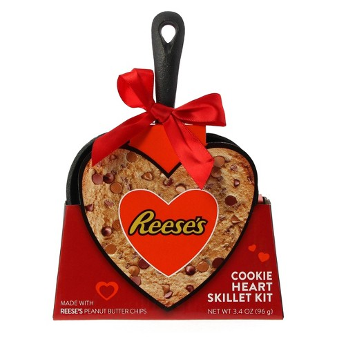 Galerie Valentine's Day Hershey Special Dark Heart Shaped Skillet with Brownie Mix - 2.4oz - image 1 of 1