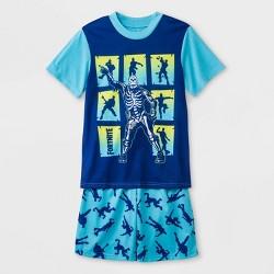 d4baca0d0 Boys' Fortnite 2pc Pajama Set - Blue/Gray : Target