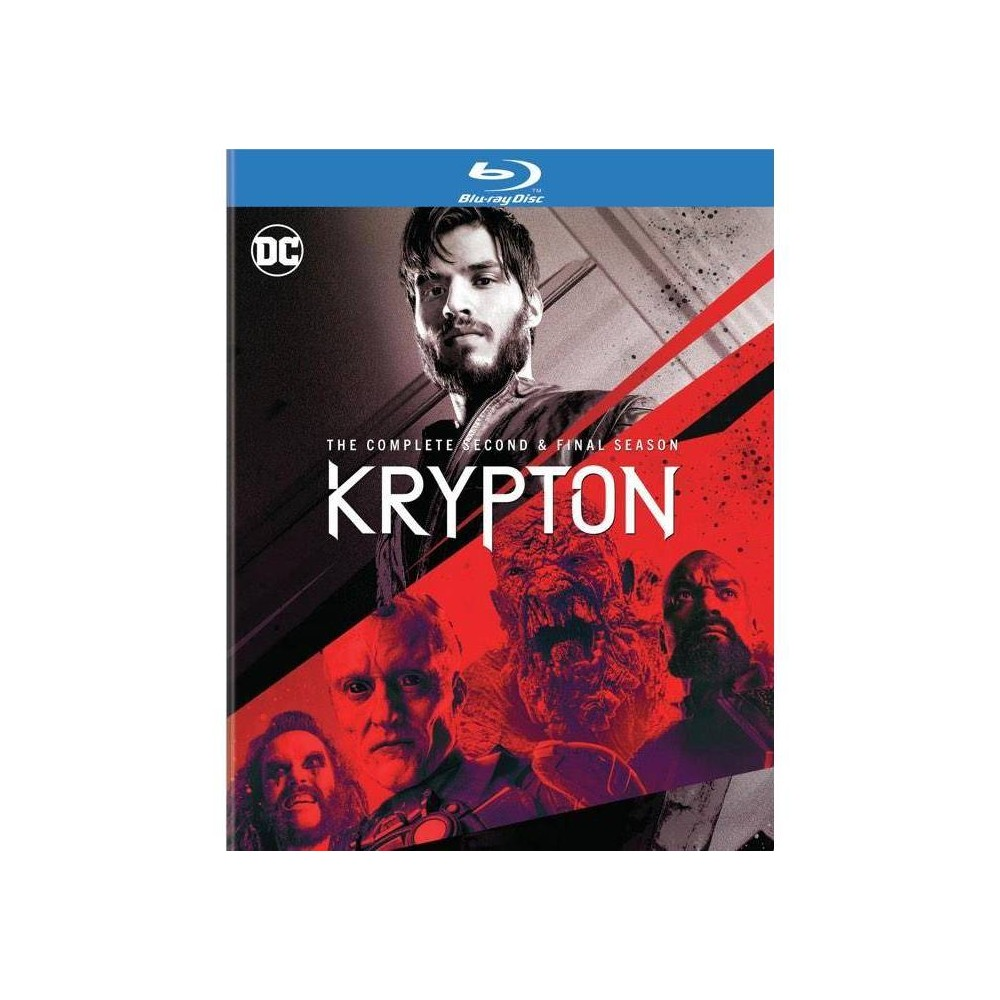 Krypton The Complete Second Final Season Blu Ray