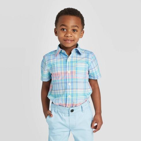 Blue OshKosh BGosh/© Toddler Boys Printed Camping Oxford Shirt
