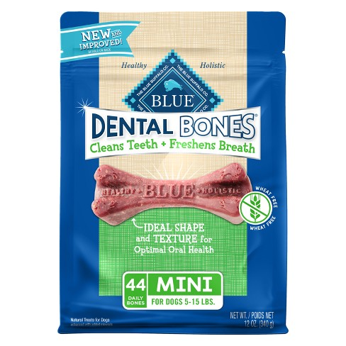Blue Buffalo Dental Bones for Dog - Mini - image 1 of 2