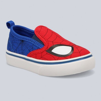 Toddler Boys' Marvel Spider-Man Dual Gore Apparel Sneakers - Blue