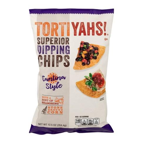 Tortiyahs Cantina Style Tortilla Chips - 12.5oz - image 1 of 3