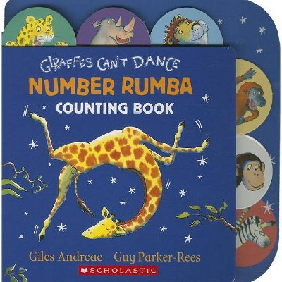 Giraffes Can't Dance by Giles Andreae (Board Book)