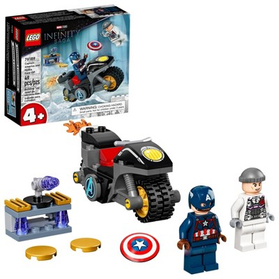 LEGO Marvel Captain America and Hydra Face-Off 76189 Building Kit
