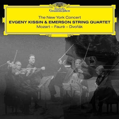 Evgeny Kissin & Emerson String Quartet - The New York Concert: Mozart - Faure  - Dvork (2 CD)
