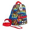 "Zip & Zoe Mini 10"" Kids' Backpack & Safety Harness - Rainbow - image 3 of 4"