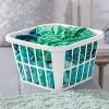 1.25bu Laundry Basket White - Room Essentials™ - image 3 of 3