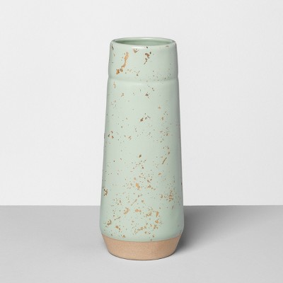 Vase Speckled Green - Hearth & Hand™ with Magnolia
