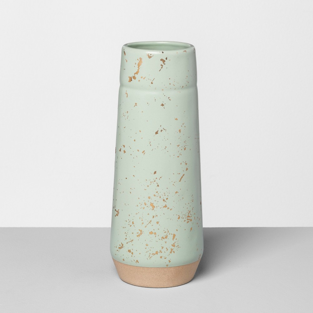 Vase Speckled Green - Hearth & Hand with Magnolia
