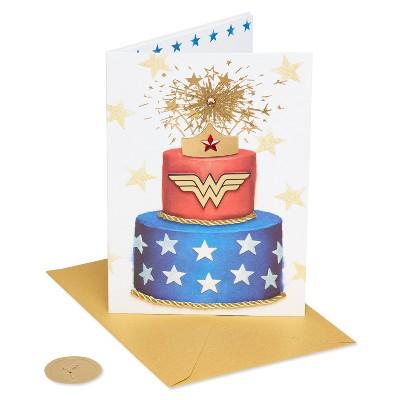 Wonder Woman Cake Pattern Card - PAPYRUS